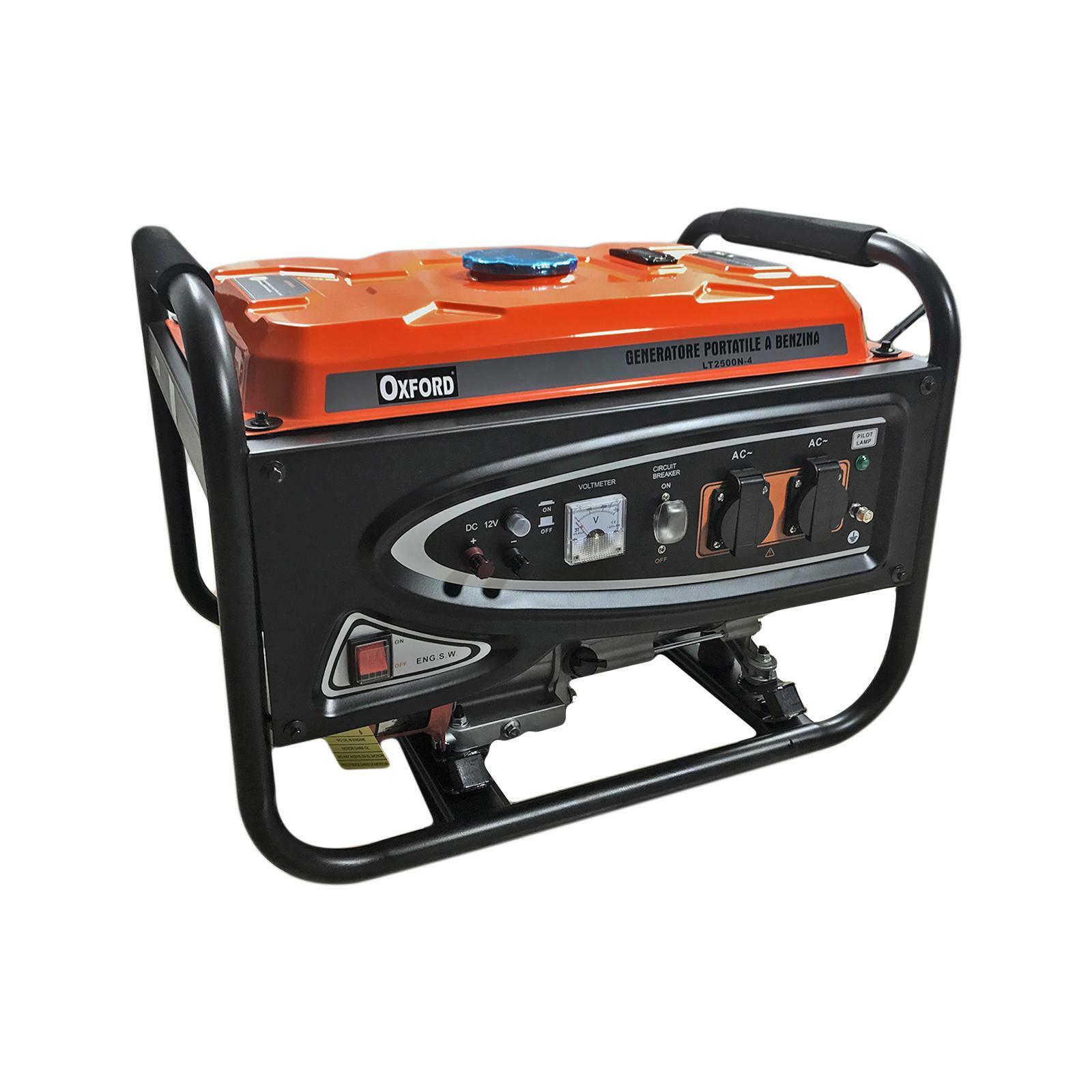 oxford generatore portatile a benzina 2.5 kw