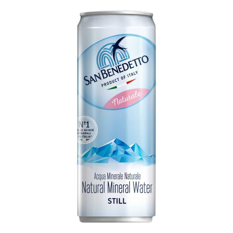 san benedetto acqua san benedetto in lattina 24x330ml naturale