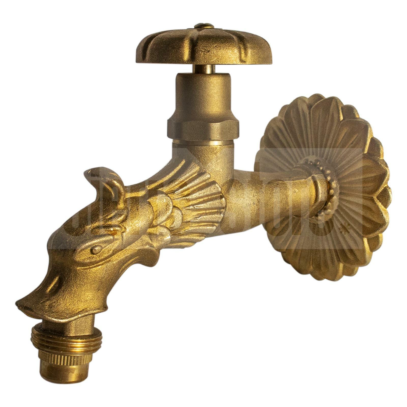 bracaglia rubinetti per fontane decogarden ornamentale attacco 1/2
