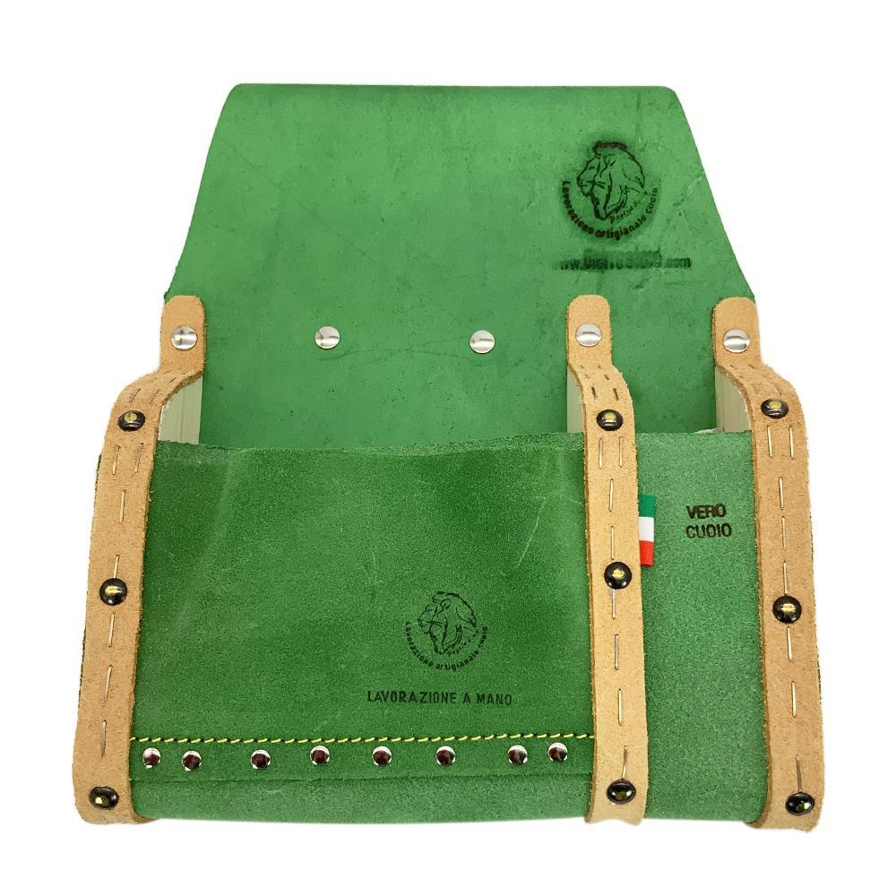 paglia borsa da carpentiere per mancini in cuoio portattrezzi