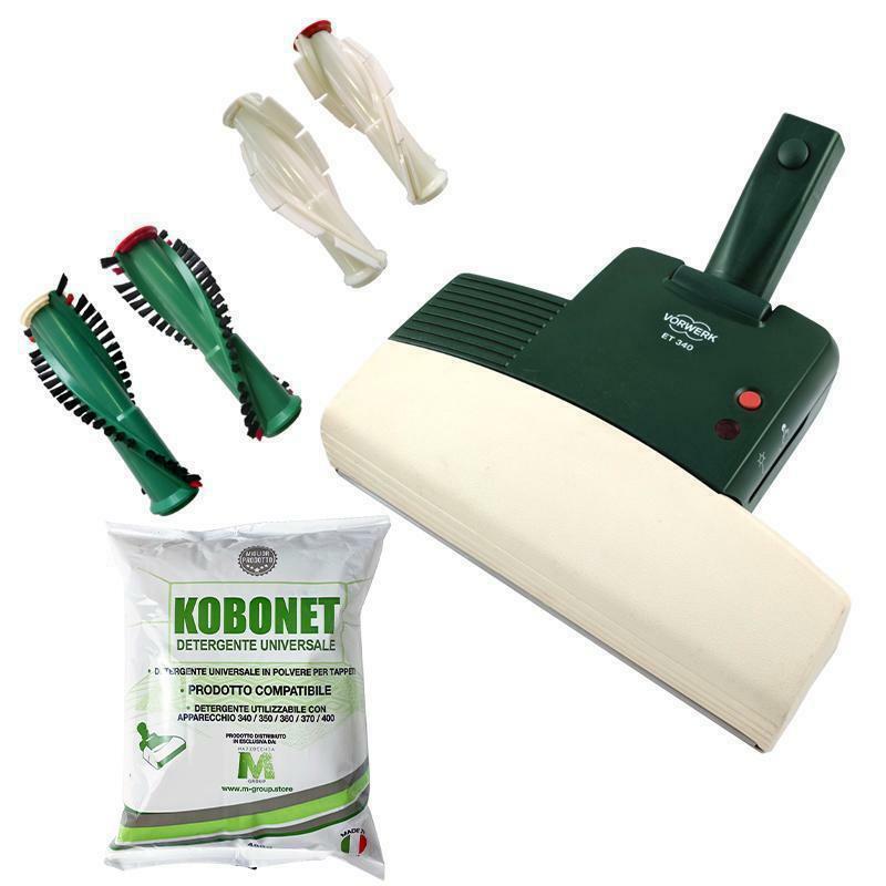 vorwerk folletto aspirapolvere vorwerk vk122 rigenerato kit accessori completo
