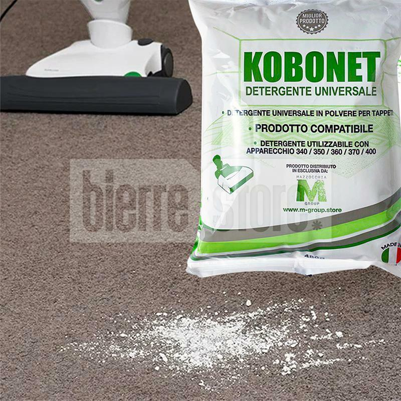 bierre store polvere per tappeti folletto detergente 480g