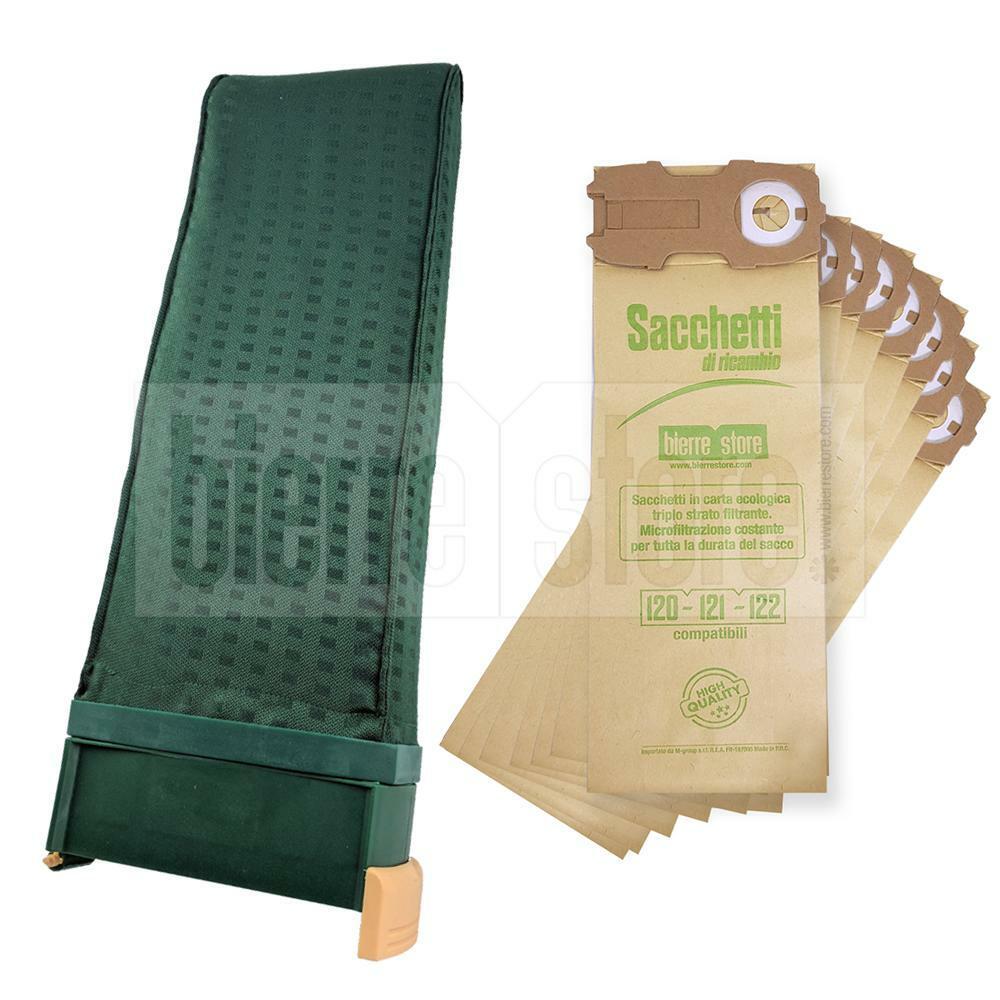 bierre store sacca unità filtro vk122 folletto 8 sacchetti 10 profumi spazzola vorwerk compatibile