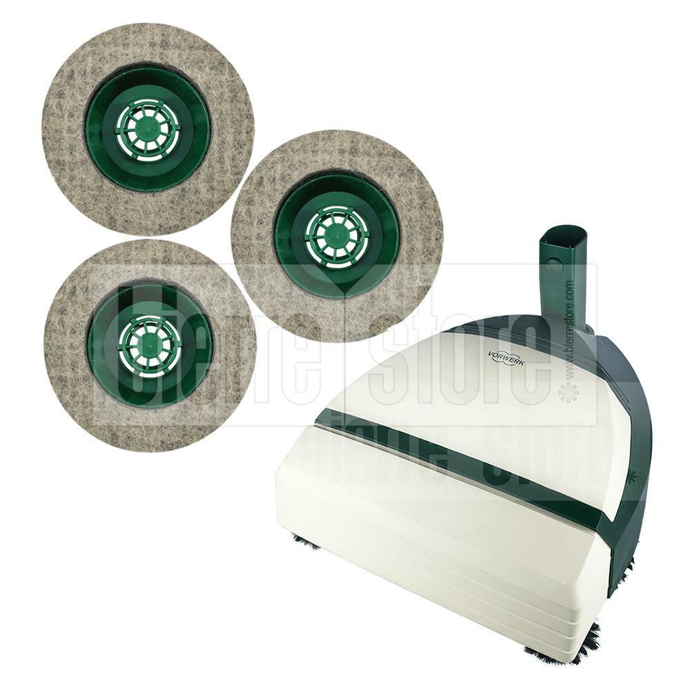 bierre store feltro 3x spazzole ricambio lucidatrice folletto pl510 pl511 pl512 pulilux compatibile