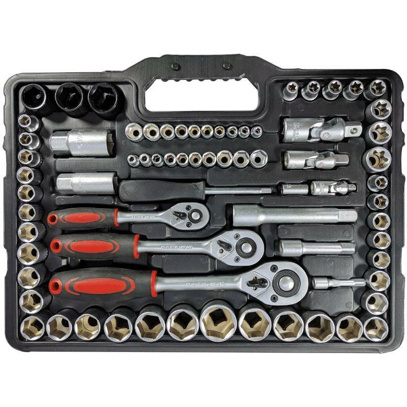 oxford set chiavi a cricchetto e kit chiavi inglesi 120 pezzi