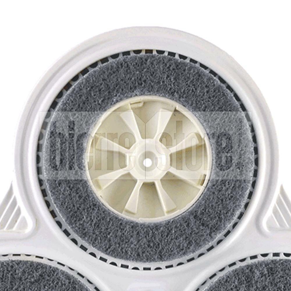bierre store modulo panda spazzole feltro e setola per lucidatrice folletto pl515 pulilux compatibile