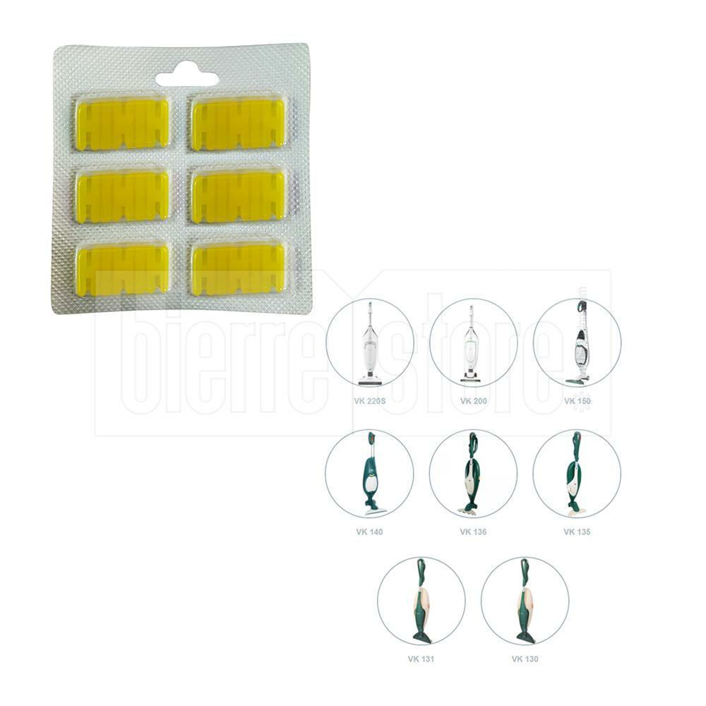 bierre store kit 36 profumi per folletto vk135 vk136 vk140 vk150 vk200 limone compatibile