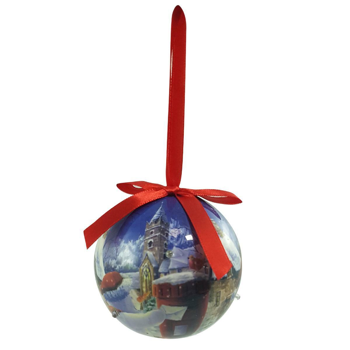 bierre store palla di natale con luce all'interno