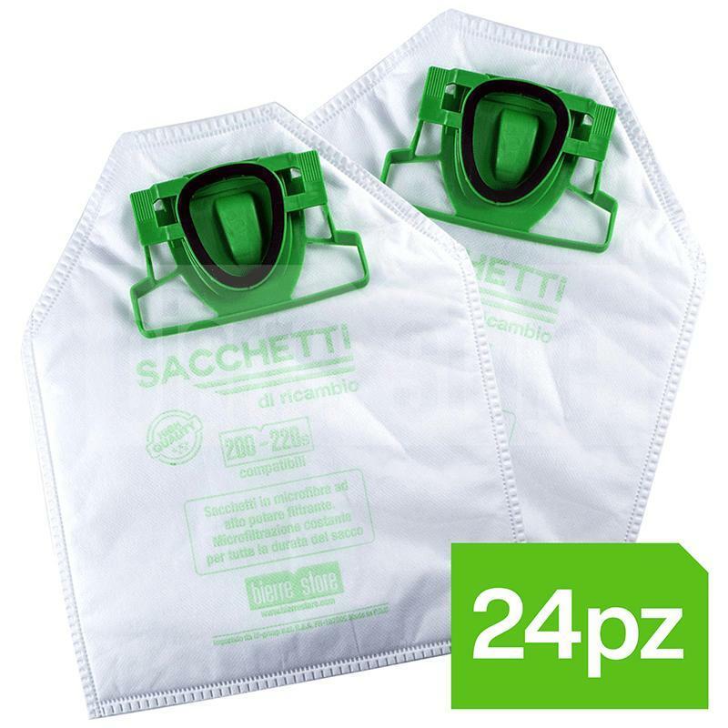 bierrestore kit risparmio sacchetti folletto vk 200 vk 220 s 24pz compatibili
