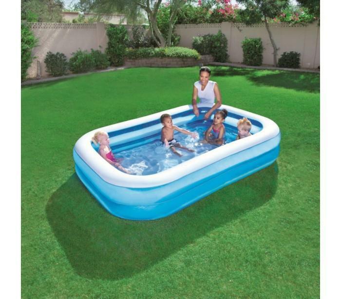 bestway piscina gonfiabile rettangolare bestway 262x175x51