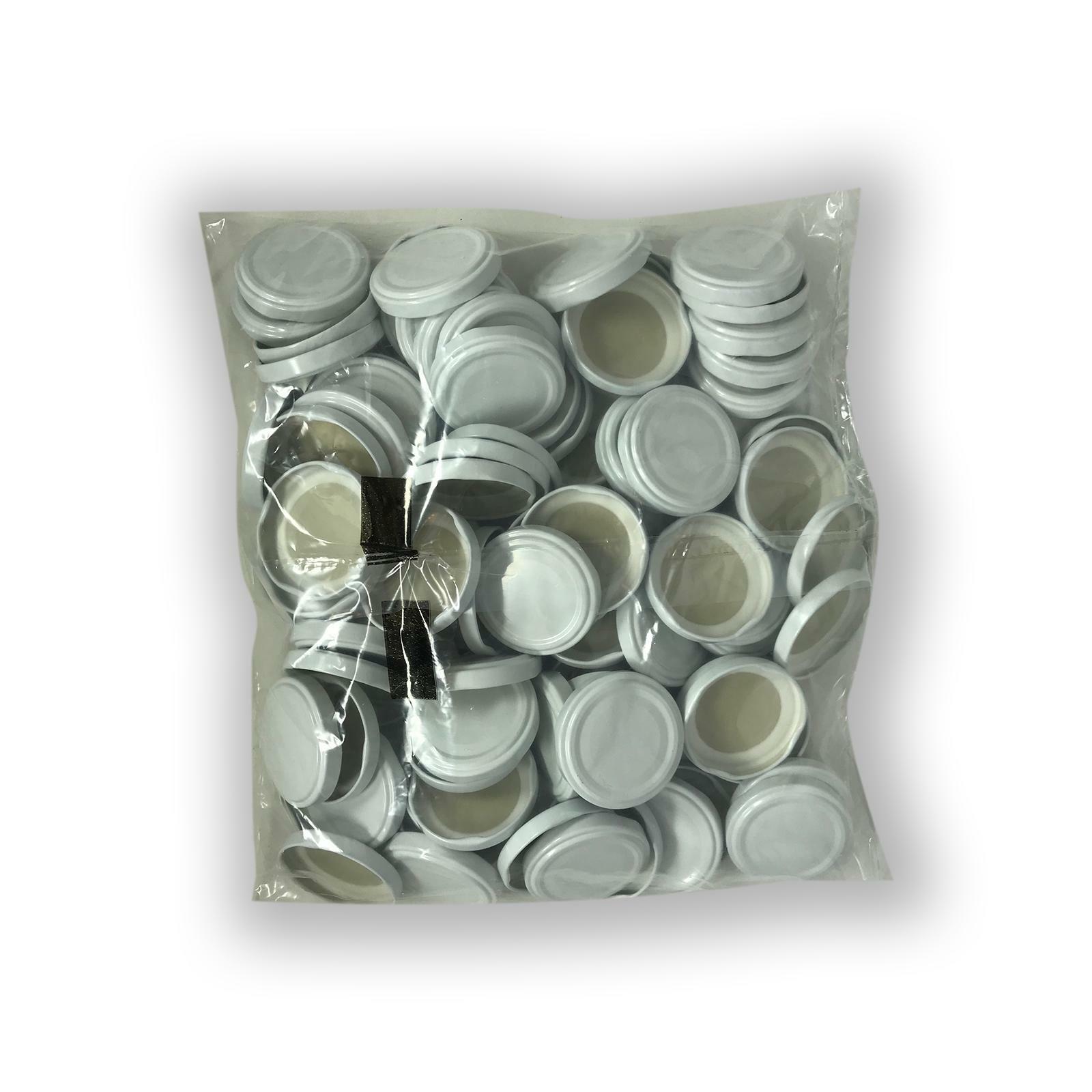 bierre store tappi per vasetti in vetro 100 pezzi 53mm per bollitura