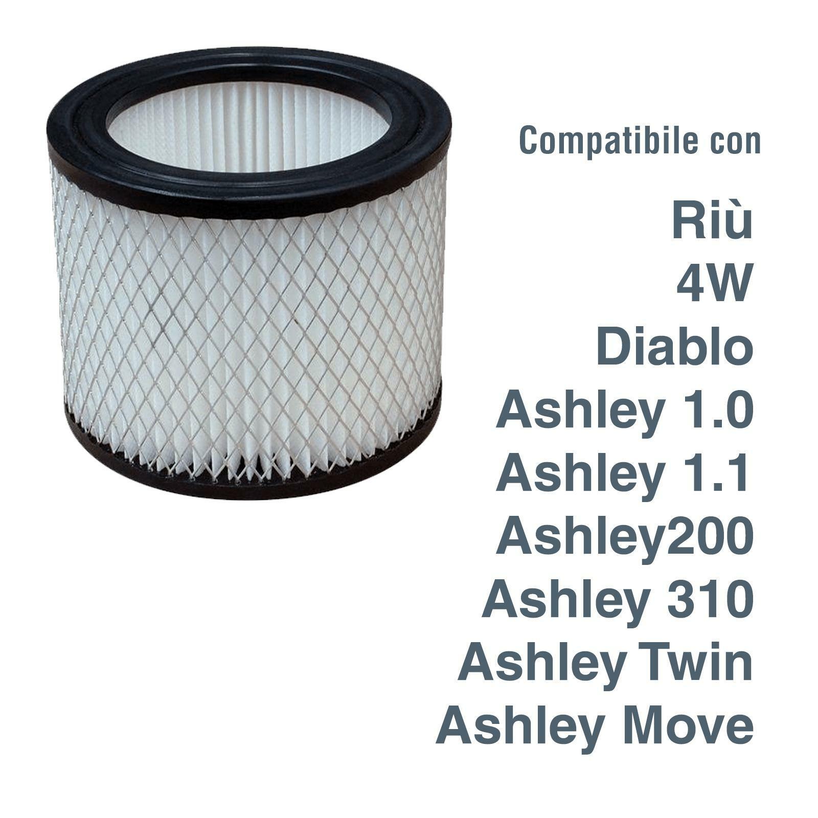 ashley filtro cartuccia cenere lavabile lavor ashley riu diablo