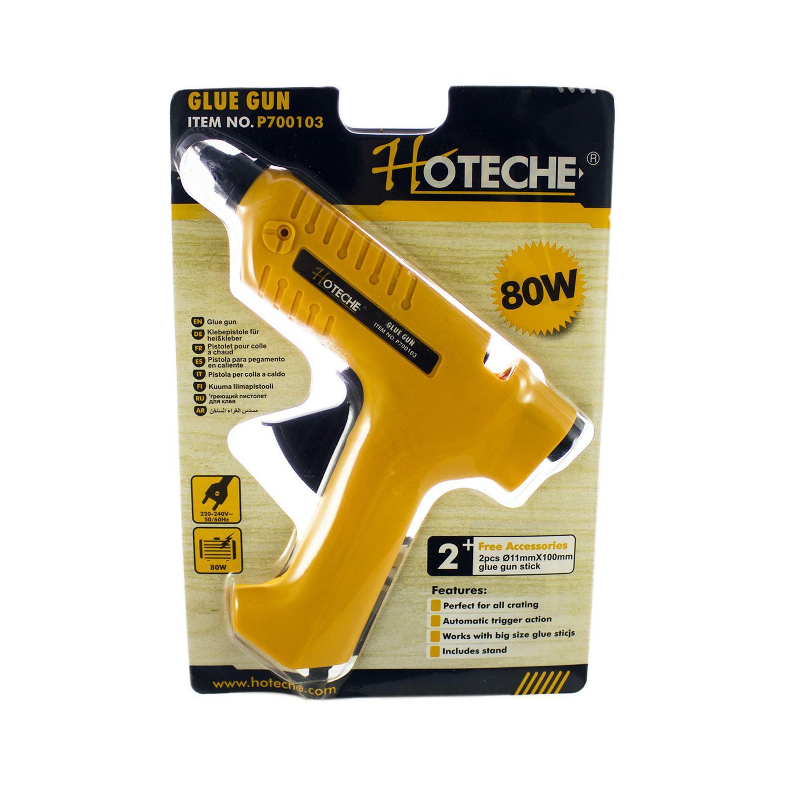 oxford pistola per colla a caldo 80w stick 11mm hoteche