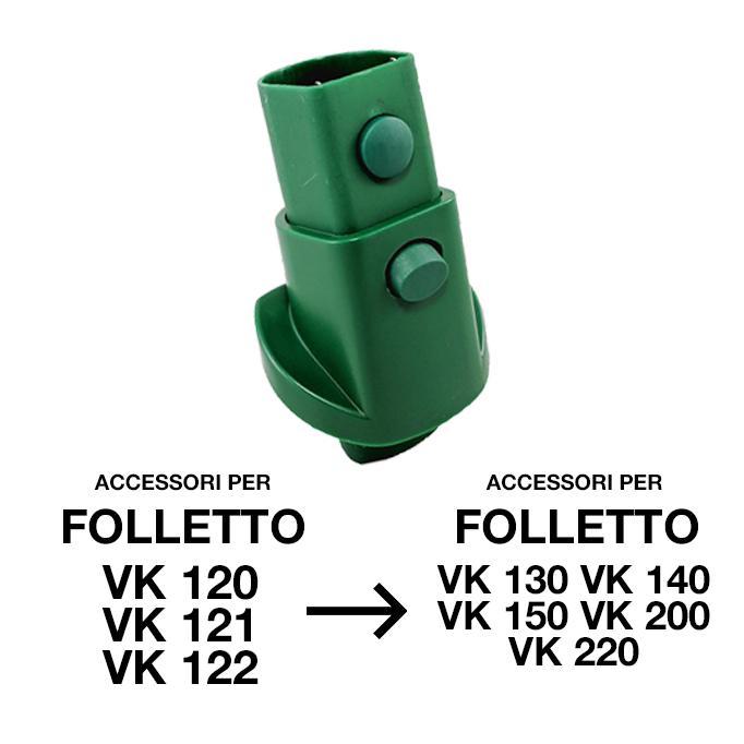 bierre store adattatore per folletto vk 121 vk 122 vk 120 inverso elettrificato ad12 compatibile