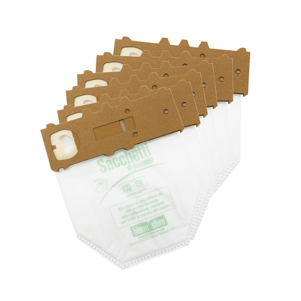 bierre store sacchetti folletto vk 131 vk 130 18pz microfibra 20 profumi compatibili