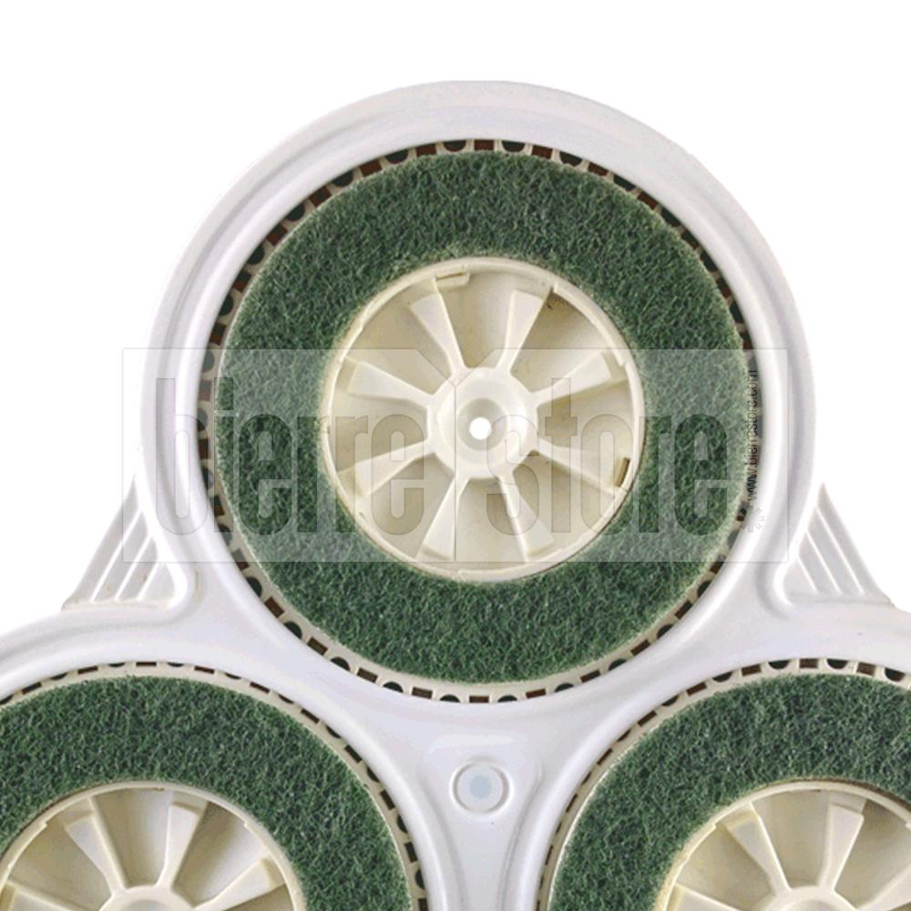 bierre store modulo pecari pad spazzole abrasive lucidatrice folletto pl515 pulilux compatibile