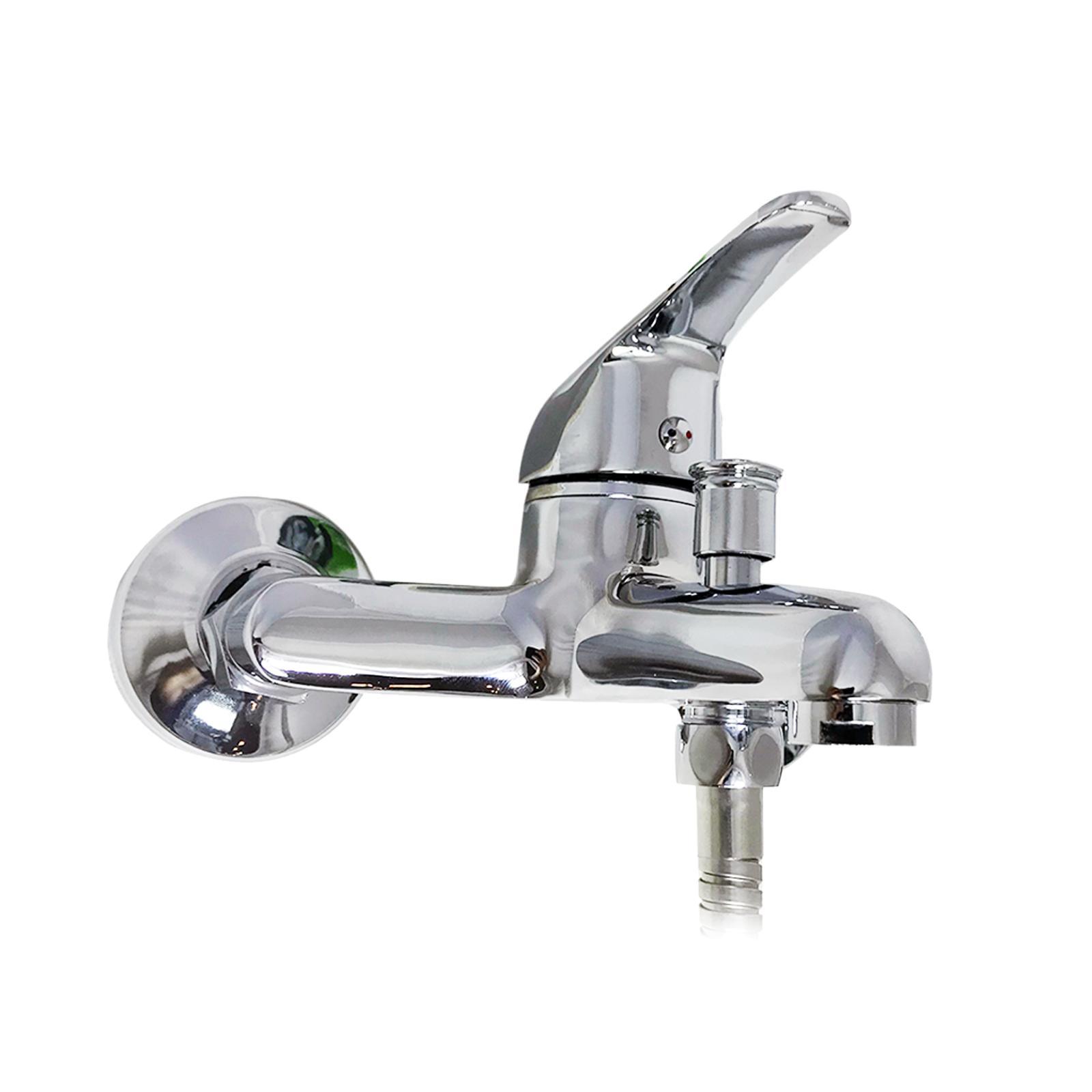 brixo miscelatore doccia/vasca brixo con tubi cromato