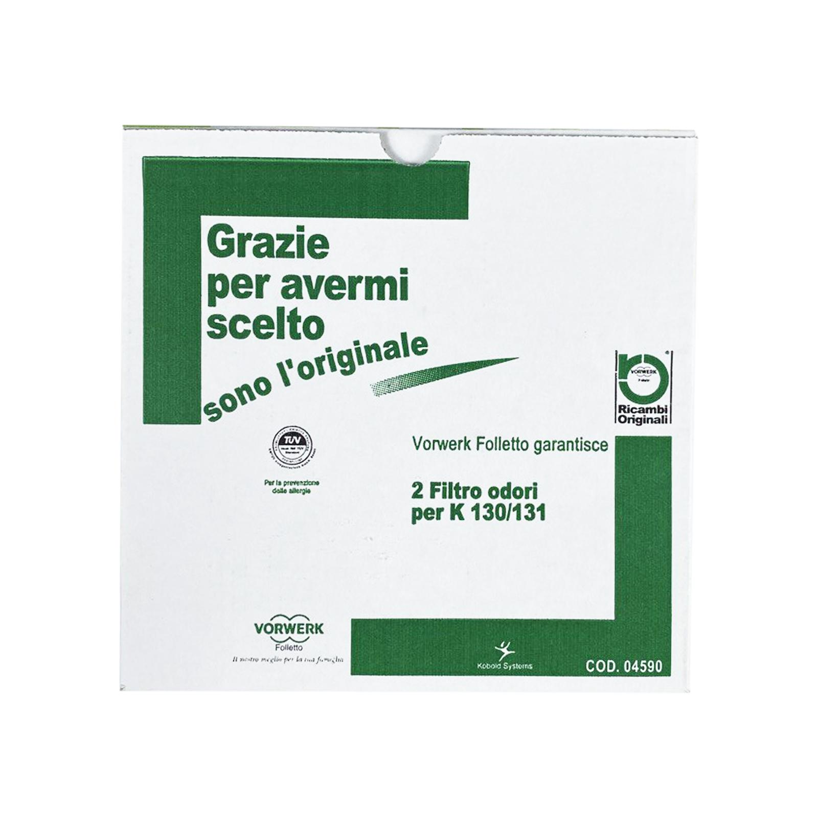 vorwerk filtro folletto kobold 130 folletto vk130 vk 131 2pz originali