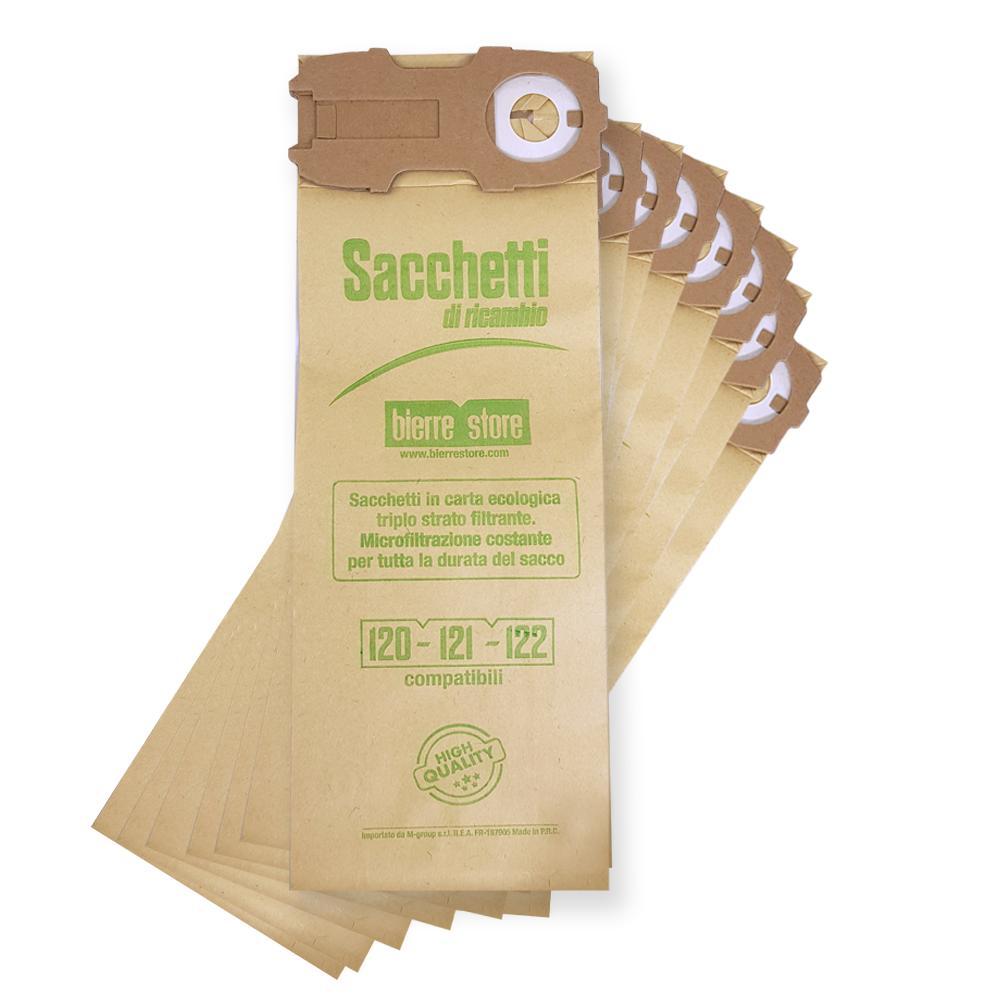 bierre store sacca unità filtro vk121 folletto 8 sacchetti 10 profumi compatibili