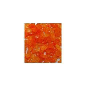 eurosand eurosand sassi di vetro arancio 4-10 mm (1kg)