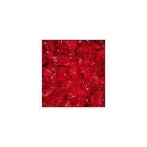 eurosand sassi di vetro rosso carminio  4-10 mm (1kg)