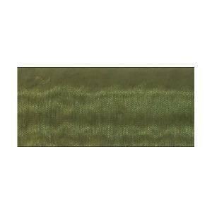 organza verde oliva - 70 cm x 10 yd