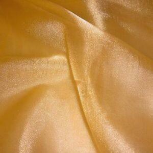 organza oro - 70 cm x 10 yd