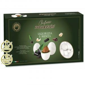 maxtris maxtris liquirizia e menta - confetti  1 kg