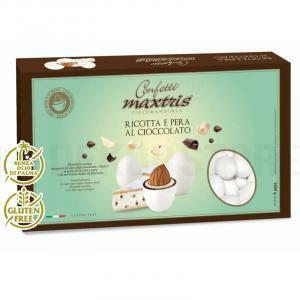 maxtris maxtris ricotta e pera al cioccolato - confetti  1 kg