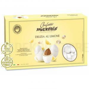 maxtris maxtris delizia a limone - confetti  1 kg