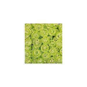 eurosand sfera filo metallico verde mela  da 30 mm (20 pz)