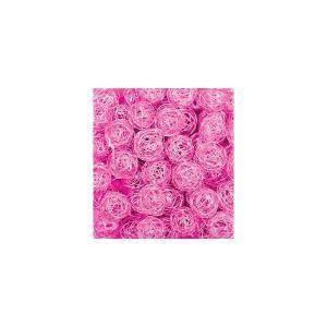 eurosand eurosand sfera filo metallico rosa shocking da 30 mm (20 pz)