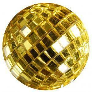 eurosand sfere di specchio oro 40mm