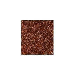 eurosand sfera filo metallico marrone da 50 mm (8 pz)