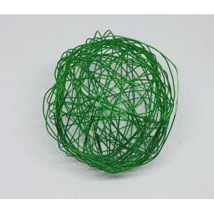 eurosand sfera filo metallico verde da 80 mm