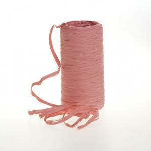 poly raphia (15mm x 200mt) rosa