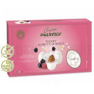 maxtris maxtris yogurt ai frutti di bosco - confetti  1 kg