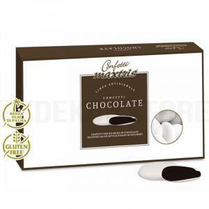 maxtris maxtris cioccolato fondente - confetti  1 kg