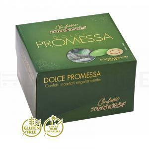 maxtris dolce promessa vassoio - confetti  (500gr)