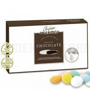 maxtris confetti  al cioccolato - lenti colori assortiti