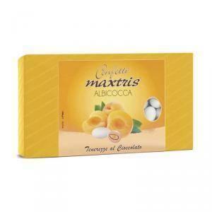maxtris maxtris albicocca - confetti 1 kgdekor-store