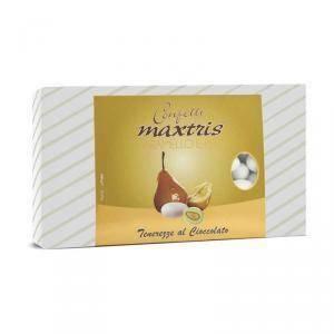 maxtris maxtris caramello e pera - confetti 1 kg