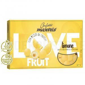 maxtris maxtris limone - love fruit confetti  1 kg
