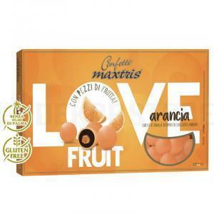maxtris arancia - love fruit confetti  1 kg
