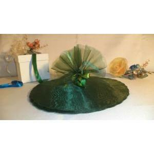 velo di fata verde muschio (24 cm x 50 pz)