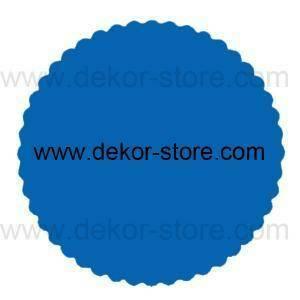 velo di fata blu royal (24 cm x 50 pz)