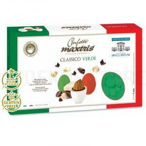 maxtris maxtris classico verde - confetti 1 kg
