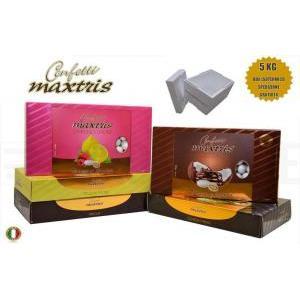 maxtris kit risparmio personalizzato 5 kg - confetti maxtris