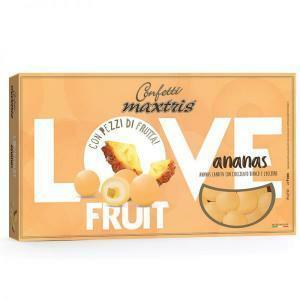 maxtris ananas - love fruit - confetti  1 kg