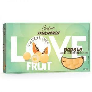 maxtris papaya - love fruit confetti  1 kg